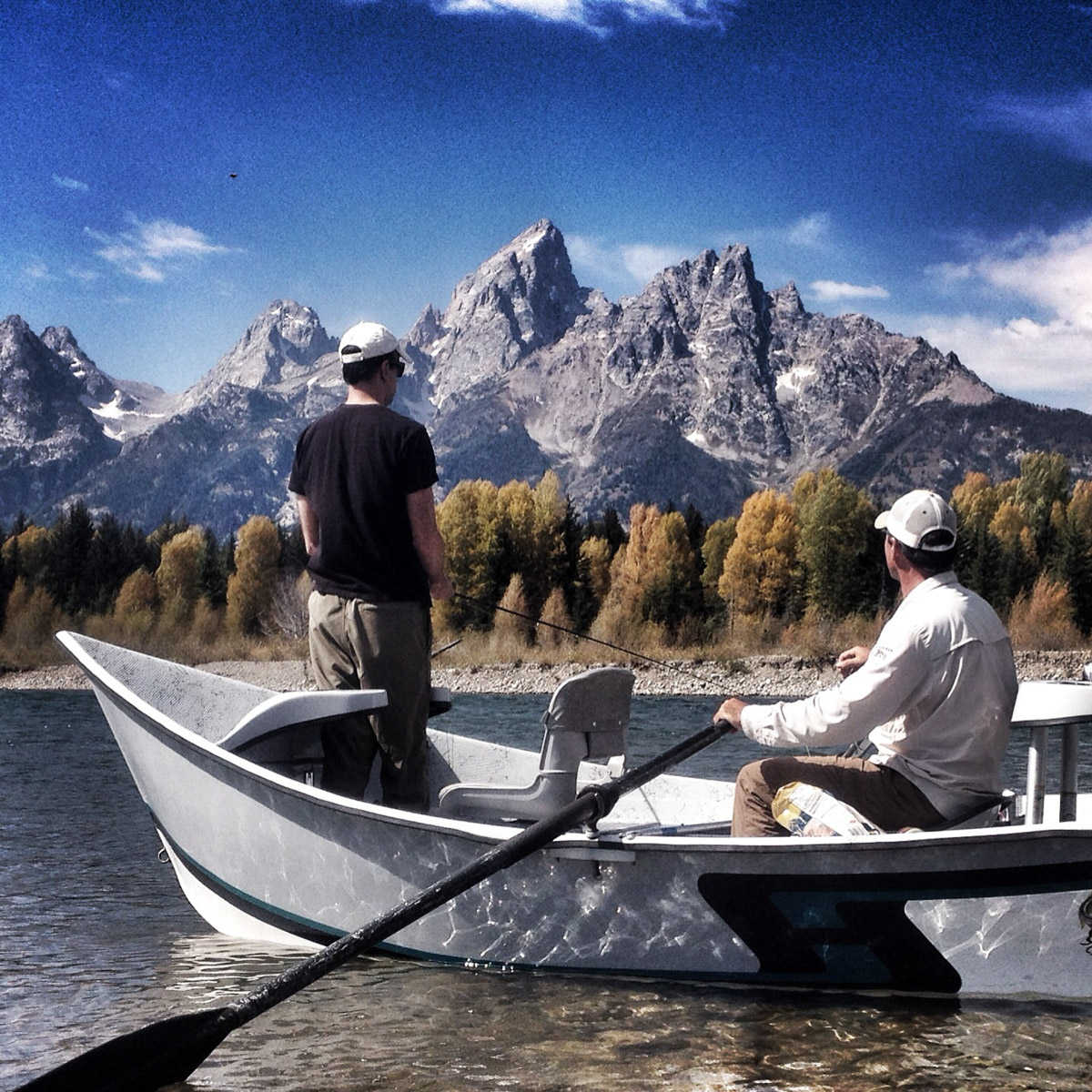 Snake River Wyoming Fishing